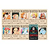 YUBAIBA Puzzle en Bois, One Piece: Avis de Recherche Puzzle, 1000 pièces, Parent-Enfant, Jouets Grand Adulte Décompression Jouets éducatifs, Cadeaux de Jour for Enfants