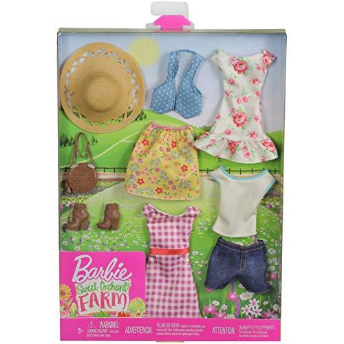 Barbie Secret Orchard Farm - Juego de accesorios para ropa