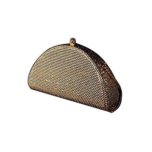 Andante-Stones magnifique sac à main avec plus de 7500 cristaux SWAROVSKI (OR)