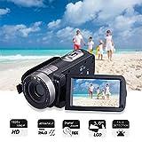 Cámara Video Cámara Videocámara 16X Zoom Digital Videocámara con 3.0'Cámara de Control Remoto LCD (Z19)