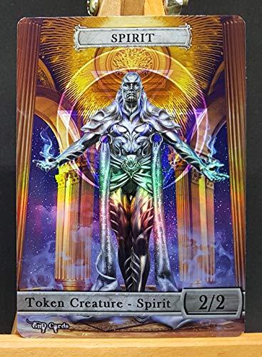 GnD Cards 1x Spirit #17 FOIL Laminated Custom Token (for Ugin The Ineffable)