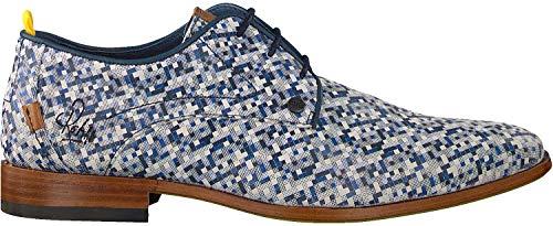 Rehab Business Schuhe Greg Pixelmania Blau Herren - 44 EU