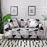 ASCV Fundas elásticas con Tiras Cruzadas Fundas elásticas Antipolvo Totalmente Envolvente para sofá para Sala de Estar Funda para sofá Funda para sillón A8 2 plazas
