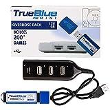 ColiCor 128GB True Blue Mini-Overdose Pack para Playstation Classic con 203 Juegos