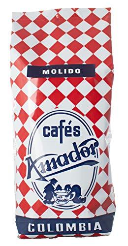 Cafés AMADOR - Café MOLIDO EXTRAFINO Natural Arábica - COLOMBIA (Molienda para Café Turco) (2x250g) 500g