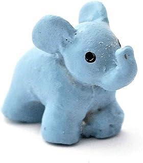 Melody Jane Dollhouse Blue Elephant Nursery Ornament Toy Shop Accessory 1:12 Scale