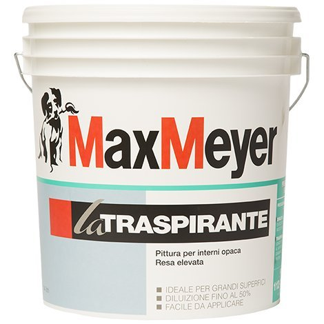 LA TRASPIRANTE Max Mayer 14 LT - Pittura per interni opaca