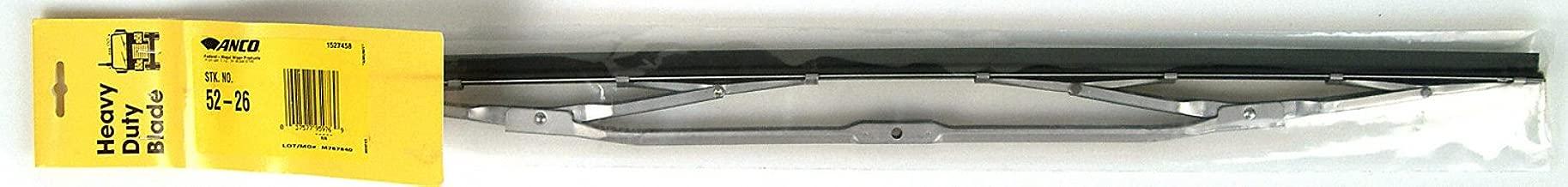Anco 5226 Heavy Duty Curved Wiper, 26