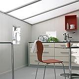 Crossflex Essential Wandpaneel und Deckenpaneel Edelweiß 2200 x 168 x 10 mm