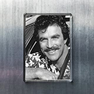 Seasons Tom Selleck - Original Art Fridge Magnet #js002