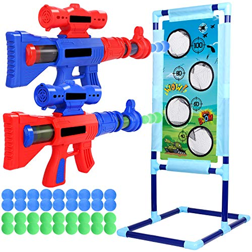 JUOIFIP Shooting Game Toy for Age 5 6 7 8 9 10+ Years Old Kids, 36 Foam...