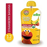Earth's Best Organic Fruit Yogurt Smoothie, Strawberry Banana, 4.2 Ounce (Pack of 12)