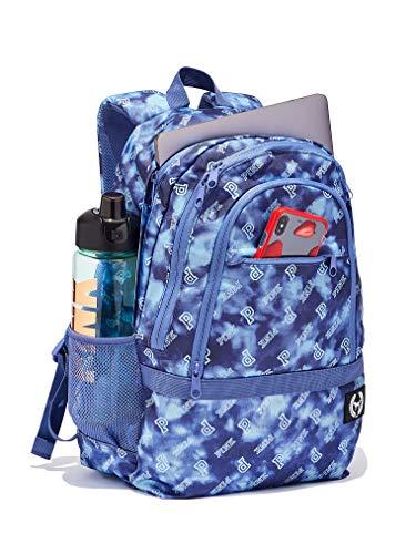 Victorias Secret Pink New Collegiate Backpack 2019 Edition (Blue Tie Dye Logo)