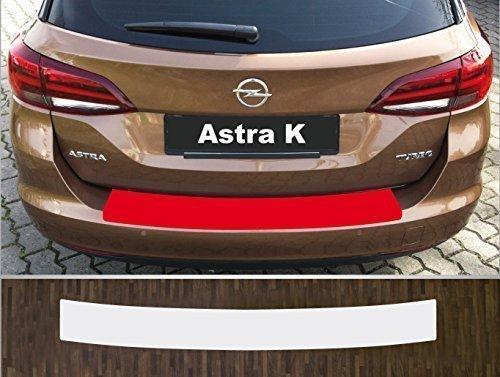 passgenau für Opel Astra K Sports Tourer, ab 2016 Lackschutzfolie Ladekantenschutz transparent