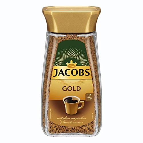 Jacobs löslicher Kaffee Gold, 200 g Instant Kaffee