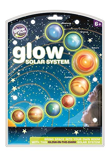 brainstorm B8500 - The Original Glowstars Company, Sistema Solar Que Brilla en la Oscuridad