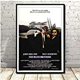 QAQTAT The Blues Brothers Klassisches Filmplakat