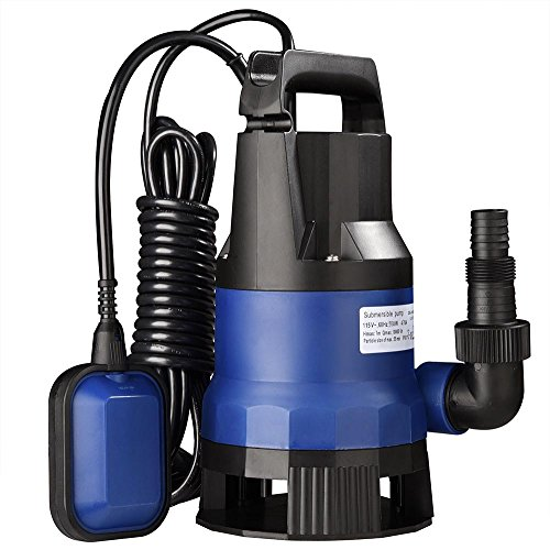 Yescom 3/4HP 2642GPH 550W Submersible Dirty Clean Water Pump Swimming Pool Pond Flood Drain Heavy Duty Water Transfer
