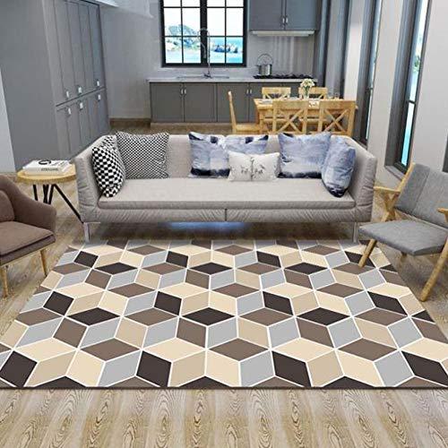 CLX tapijt lopers tapijt, tapijt, tapijt, gang tapijt, grijs, oranje, geel, woonkamer tapijt, slaapkamer tapijt