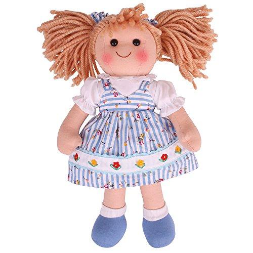 Bigjigs Toys Poupée 28cm Harry   Jouet Enfant   Jeu Traditionnel Enfant   Nounours   Jouet Enfant   Cadeau Enfant   Jouet pour Fille