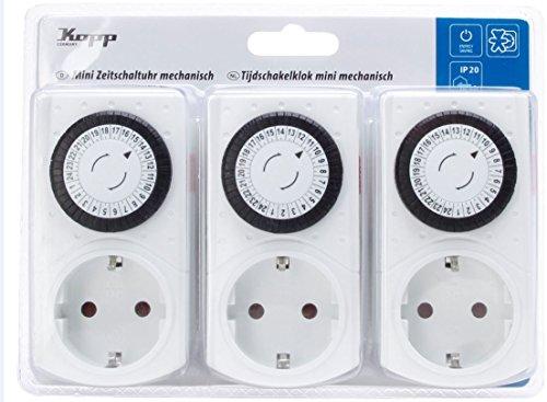 Kopp 195302174 3x ZeitschUhr elektr. w