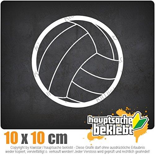 Handball 11 x 11 cm IN 15 FARBEN - Neon + Chrom! Sticker Aufkleber