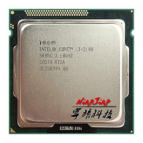 i3-2100 i3 2100 3.1 GHz Dual-Core CPU Processor 3M 65W LGA 1155
