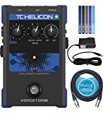 Best Vocal Harmonizers - TC Helicon VoiceTone H1 Vocal Effects Pedal Bundle Review