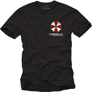 Camiseta Hombre Estampado - Umbrella Corporation Logo - T-Shirt Resident