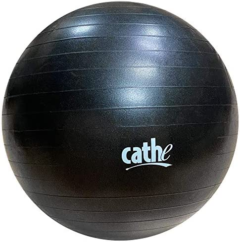 Cathe 55 cm Anti Burst Stability Exercise Ball Perfect for Pilates Yoga Abdominal Core Training product image