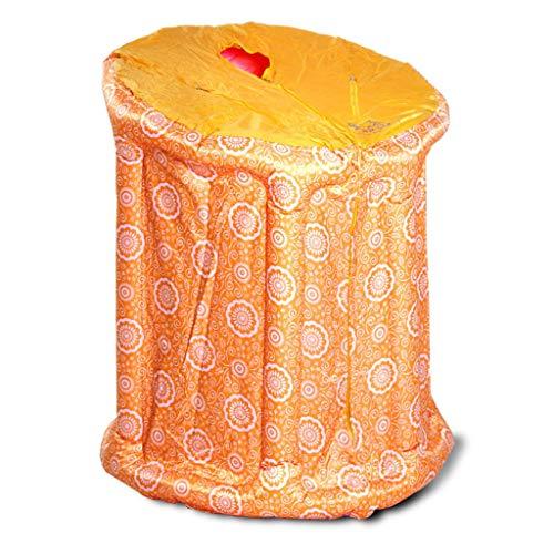 Sauna a a a draagbare stoomreiniger Gona douchecabine met infrarood sauna 90 × 85 × 105 cm van PVC, 800 W, regeling van de temperatuur bij aandrijving 1-9 elektronisch gecontroleerd