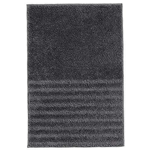 Tapis de bain VINNFAR 40x60 cm gris foncé