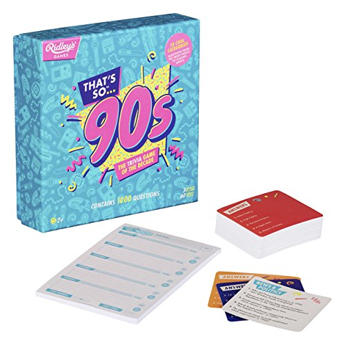 Ridleys, Game Quiz Thats So 90s Usa