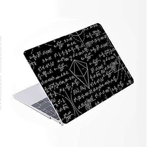 """SDH Coque pour MacBook Pro 15"""" 2019 2018 2017 2016 version A1990 A1707 - Coque rigide en plastique avec motif en relief - Compatible avec Mac BookPro 15 Touch Bar & ID, Blackboard Book 13"""