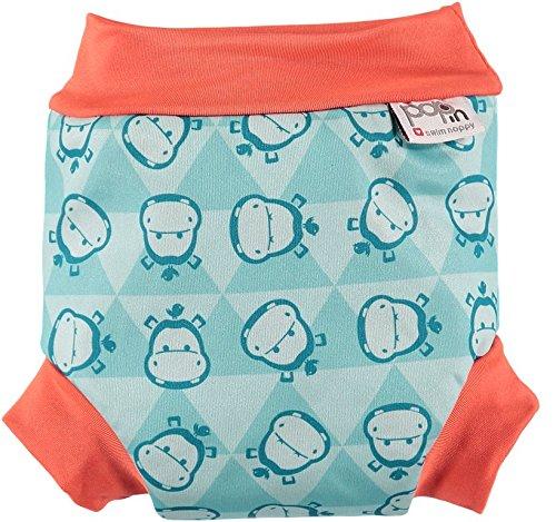 Close pop-in zwemluiers Hippo - Small (pasgeborenen, vanaf 3 kg) - Design 2014