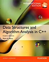 Data Structures and Algorithm Analysis in C++ by by Mark A. Weiss (2013-07-30)