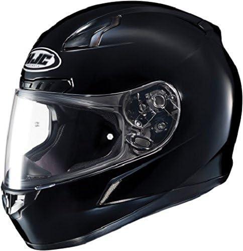 HJC CL-17 Full-Face Motorcycle Helmet (Black, 4X-Large) (824-608)