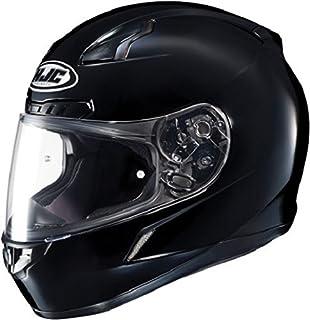 HJC 824-603 CL-17 Full-Face Motorcycle Helmet (Black, Medium)