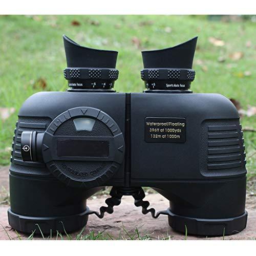 FANCYKIKI 7x50-Fernglas für Erwachsene, kompaktes HD-Profi-Fernglas für Vogelbeobachtungsreisen, Sternbeobachtungs-Jagdkonzerte, BAK4-Prisma-FMC-Objektivkompass mit Tragetasche Durable Profession Spor