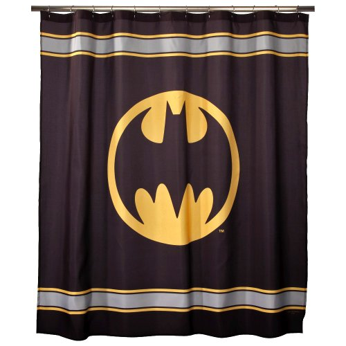 DC / Warner Brothers Batman Fabric Shower Curtain