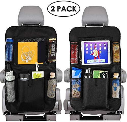 Preisvergleich Produktbild MAQLKC Kick-Matten-Schutz für Autositz Wasserdichtes,  Autositz Organizer für Vorder- und Rücksitz,  Rückenlehnenschutz Auto Kinder