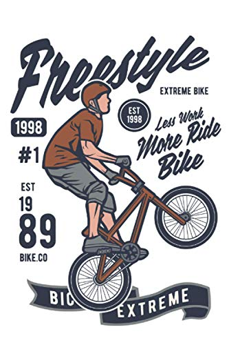 Notebook Freestyle Bmx: Journal notebooks College Ruled