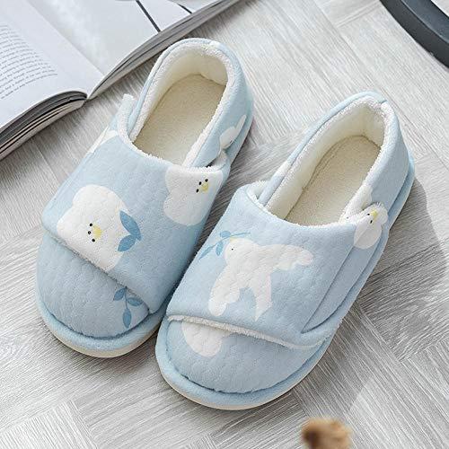 Schoenen voor diabetes oedeem Orthopedische gezwollen voeten,Wintertas met opsluitschoenen, schattige zwangerschapsslofjes-35_Blauwe vredesduif,Diabetische wandelschoenen voor heren Ademende sneake