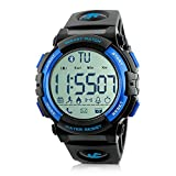 Beeasy Mens Digital Sport Watch Waterproof Military Wrist Watches with Pedometer Calorie Stopwatch...