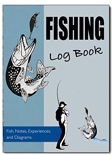 Fitness & Wellbeing Fishing Log Book, Fishing Diary/Journal, A5 Fishermans Log Diary, Anglers Log Journal, Cover 08