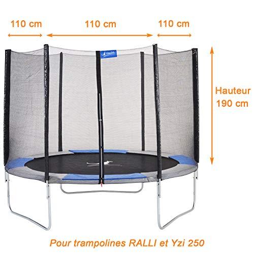 Kangui – Red de seguridad y protección Trampolina RALLI Ø 250 cm