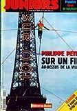 HEBDO DES JUNIORS (L') [No 204] du 26/08/1997 - PREMIERE LECON DE BODYBOARD - PHILIPPE PETIT SUR UN FIL AU-DESSUS DE LA VILLE - LE BODYBOARD - PAS BESOIN D'ETRE UN PRO POUR S'ECLATER ! - ACTUALITES - REPORTAGE - PHILIPPE PETIT EST FUNAMBULE - DECOUVERTE - DES BAMBOUS, UNE MINE, UN MONDE MINIATURE ET UN PALAIS DE LA RECUPERATION - QUATRE LIEUX FRANCAIS ETONNANTS - PRATIQUE - LE BODYBOARD - C'EST LE PLUS FACILE, LE MOINS CHER ET LE PLUS AMUSANT DES SPORTS DE GLISSE - TELEVISION - TA