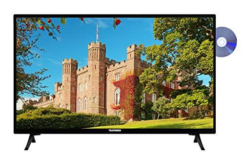 Telefunken XH24J101D 60 cm / 24 Zoll Fernseher (HD ready, DVD-Player, Triple-Tuner) [Modelljahr 2020]
