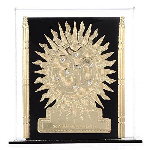 Purpledip OM visitekaart: Sacred Religion beeld voor auto dashboard, thuis tempel, winkel counter/rek, of B ?ro tafel (10944)
