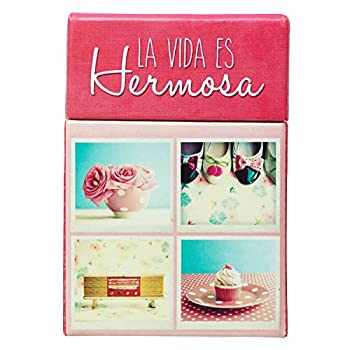 Life is Beautiful in Spanish Cards A Box of Blessings 101 Encouraging Messages